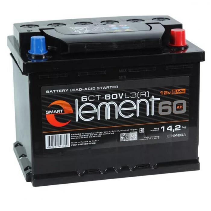 Аккумулятор SMART  Element 60Ah