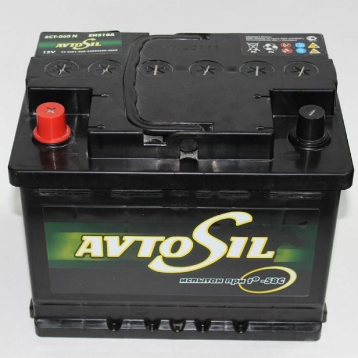 Аккумулятор  AVTOSIL 60Ah