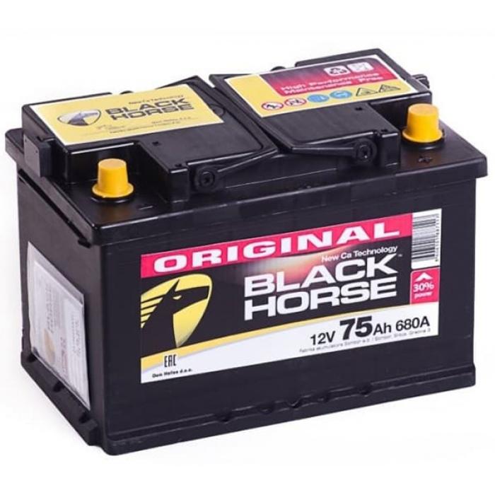Аккумулятор Black Horse  75Ah