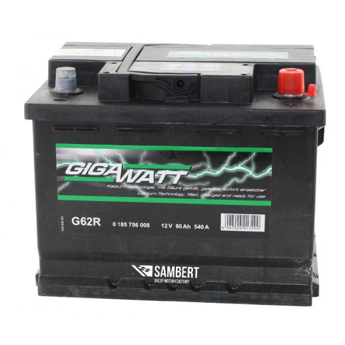 Аккумулятор GIGAWATT  72Ah