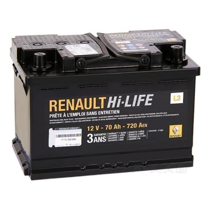 Аккумулятор RENAULT Standart  60Ah