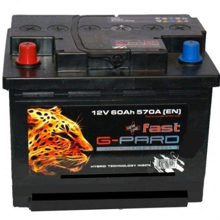 Аккумулятор G-PARD  62Ah