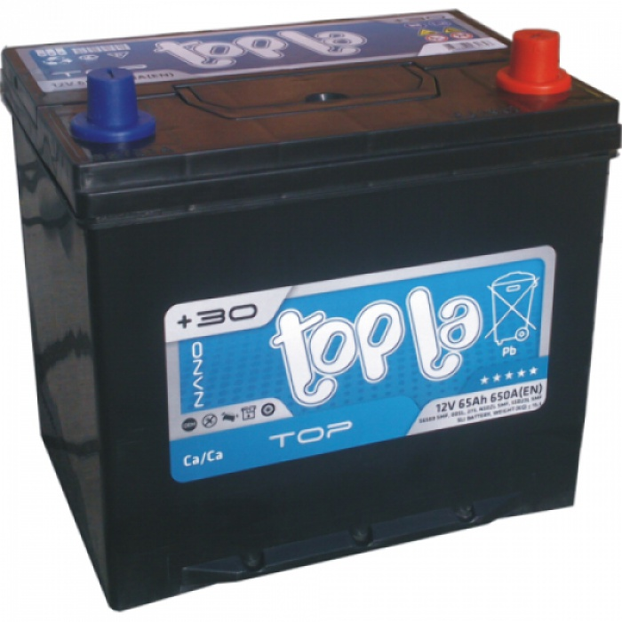 Аккумулятор TOPLA  ASIA D23 60Ah