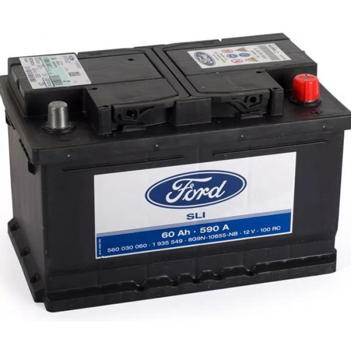 Аккумулятор Ford Standart  60Ah