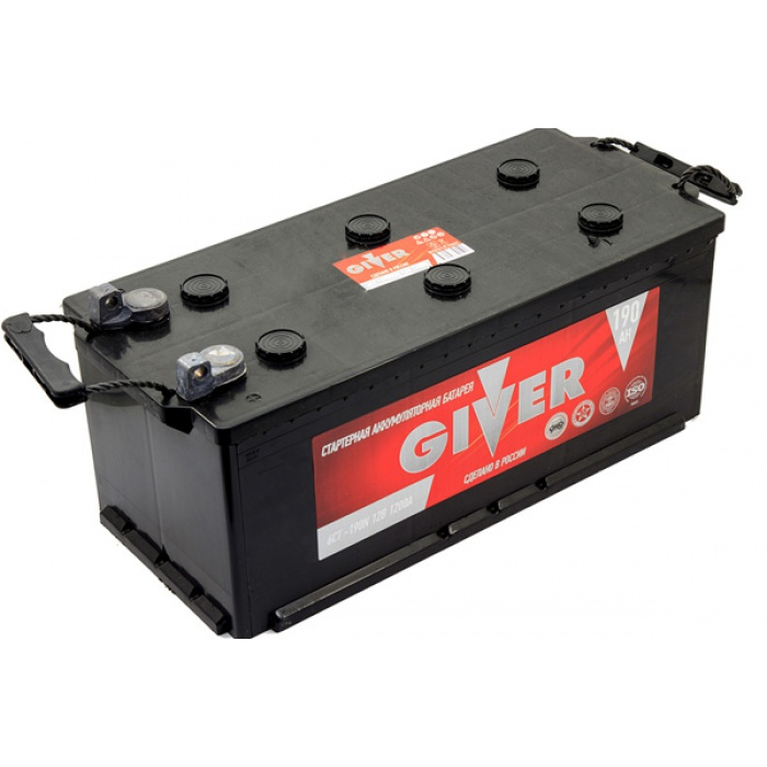 Аккумулятор GIVER  190Ah