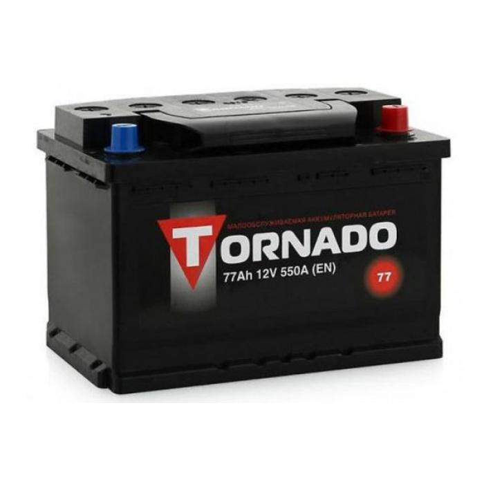 Аккумулятор TORNADO  77Ah