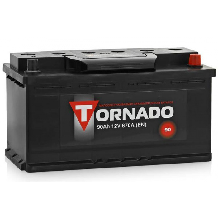 Аккумулятор TORNADO  90Ah