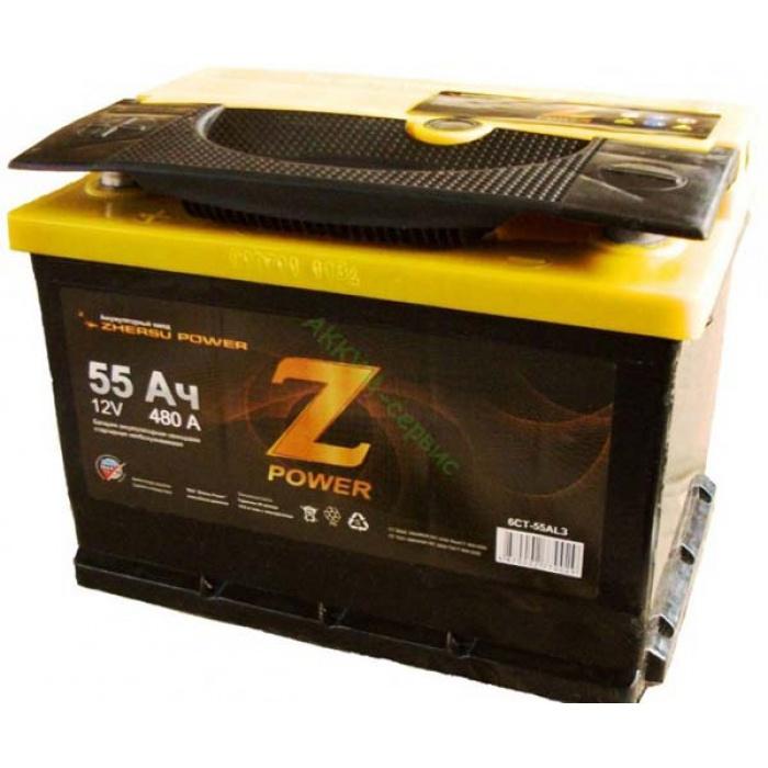 Аккумулятор  MUSTANG Power Z 55Ah