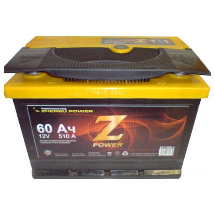 Аккумулятор  MUSTANG Power Z 62Ah