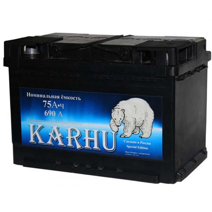 Аккумулятор KARHU  0Ah