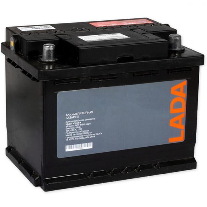 Аккумулятор LADA  EVRO 0Ah