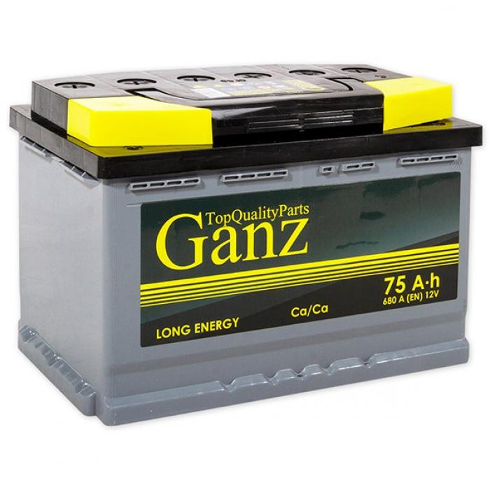 Аккумулятор GANZ  0Ah