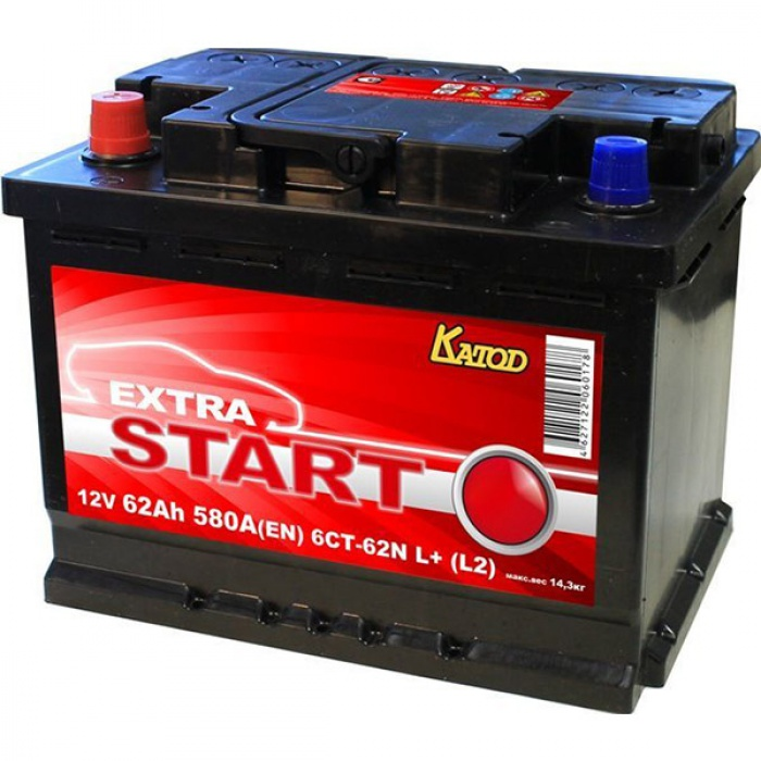 Аккумулятор Katod  Extra Start 0Ah