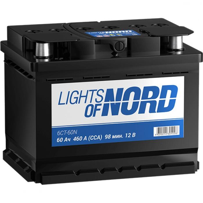 Аккумулятор Lights of Nord  STANDART 0Ah