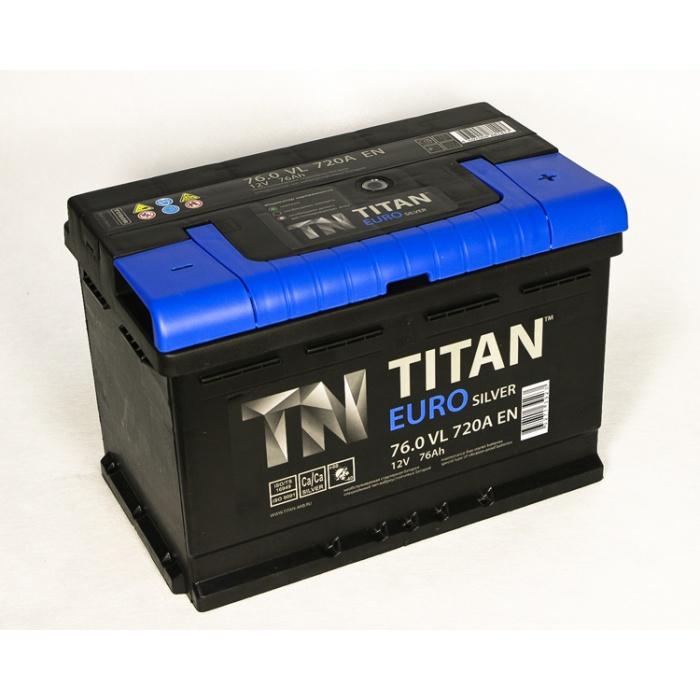 Аккумулятор  Титан ЕВРО Silver 85Ah
