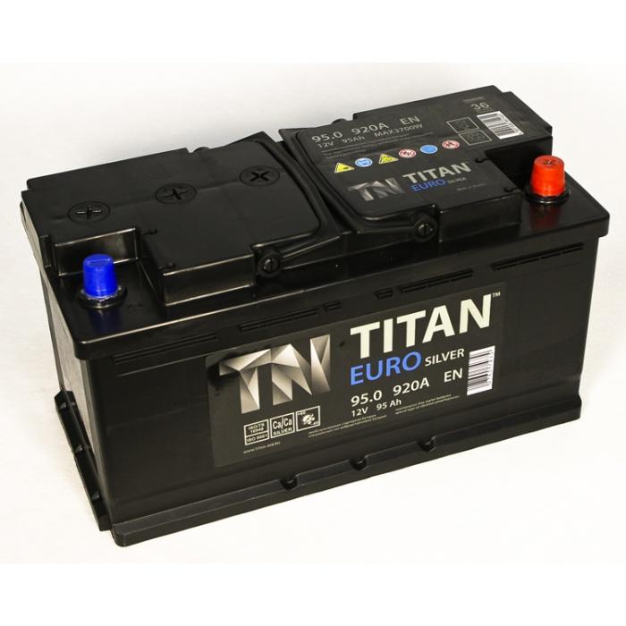 Аккумулятор  Титан ЕВРО Silver 95Ah