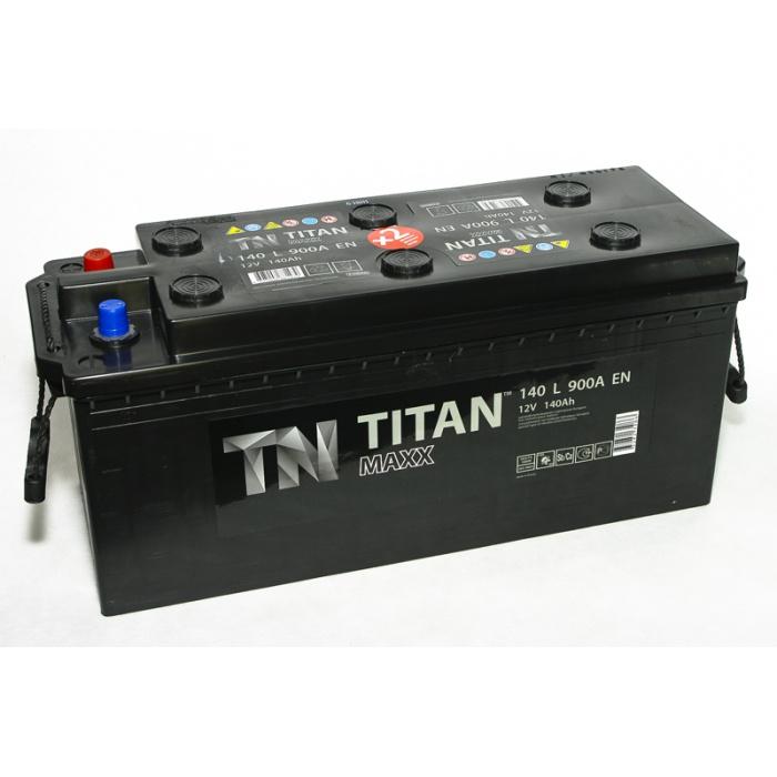 Аккумулятор  Титан MAX ST 140Ah
