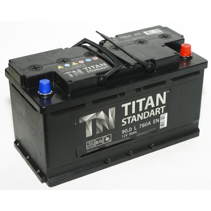 Аккумулятор  Титан Standart 90Ah