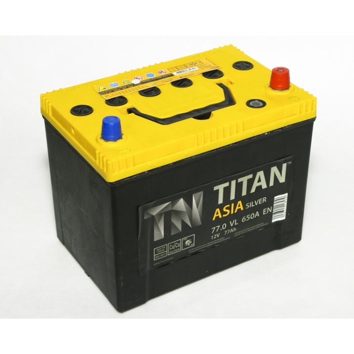 Аккумулятор  Титан Азия Silver 70Ah