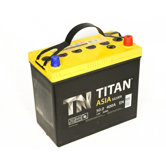Аккумулятор  Титан Азия Silver 57Ah