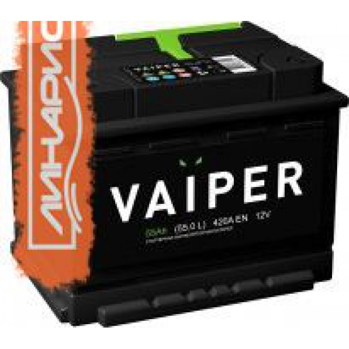 Аккумулятор VAIPER Титан  55Ah