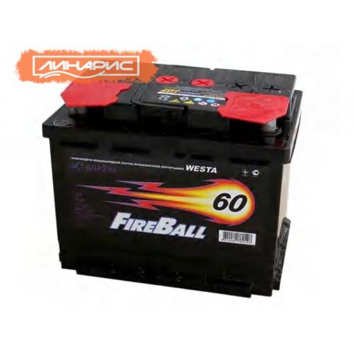 Аккумулятор FIRE BALL  60Ah