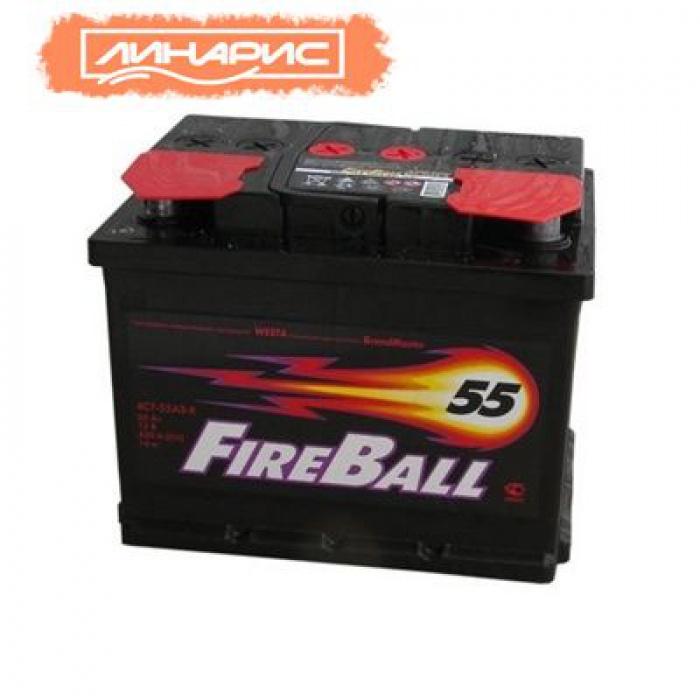 Аккумулятор FIRE BALL  55Ah