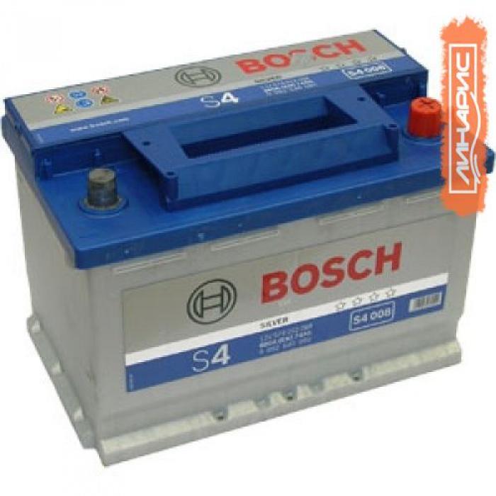 Аккумулятор BOSCH  S4 Asia 60Ah