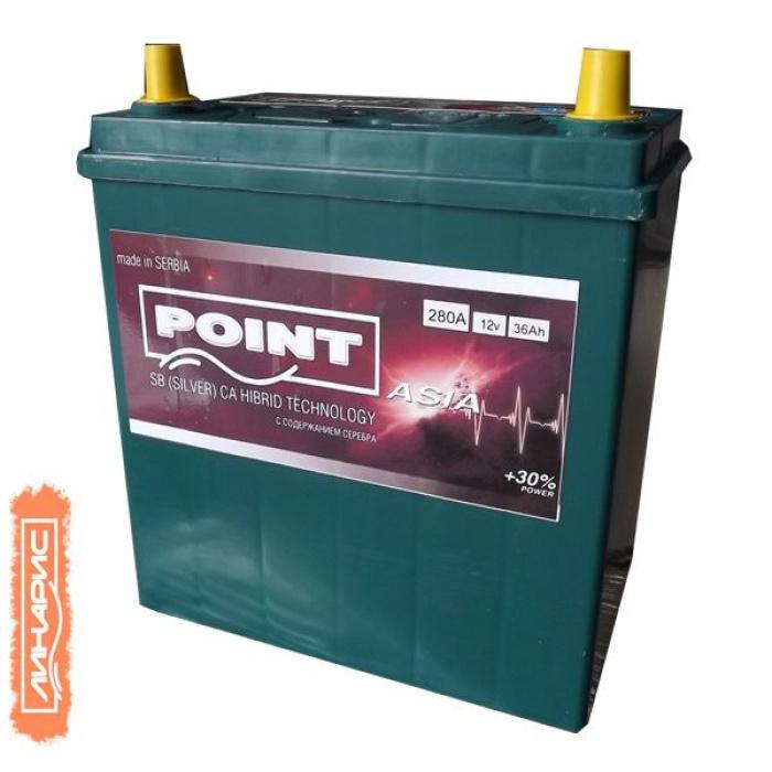 Аккумулятор POINT  Asia (300A) 36Ah