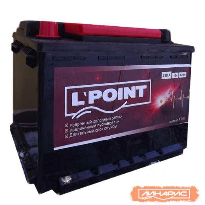 Аккумулятор L POINT К  (56221) 6062Ah