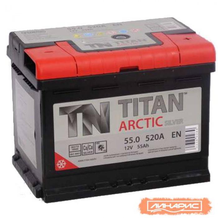Аккумулятор  Titan Arctic 55Ah