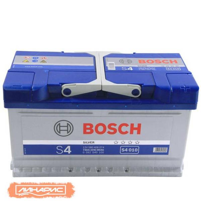 Аккумулятор BOSCH  S4 60Ah