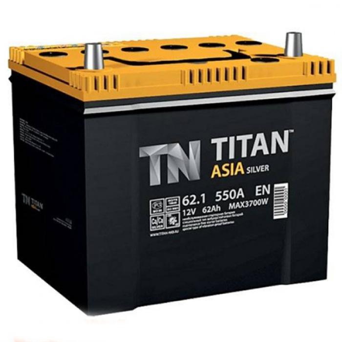 Аккумулятор  Титан Азия Standart 62Ah