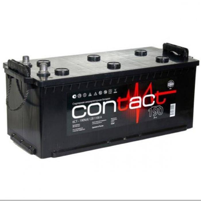 Аккумулятор  Contact 90Ah