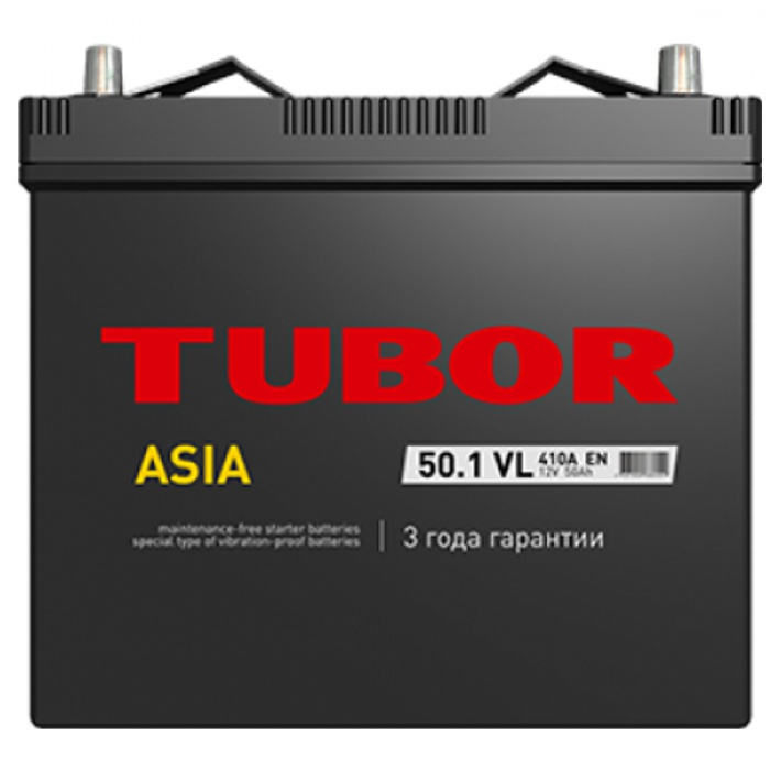 Аккумулятор  Tubor Asia Standart 50Ah
