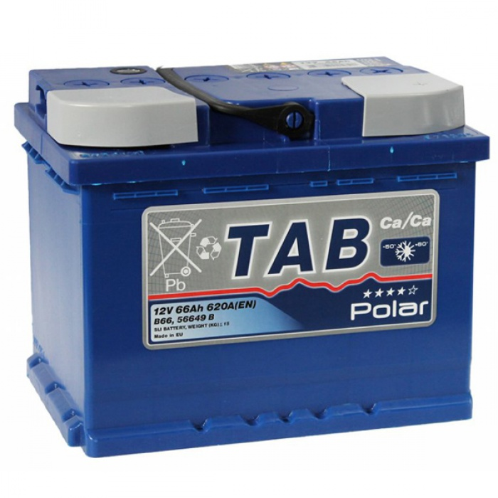 Аккумулятор TAB  POLAR BLUE 60Ah