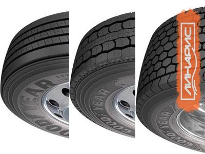 Новые грузовые шины Goodyear экономят топливо