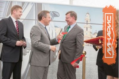 Открытие завода немецкой компании Lanxess на территории Липецкой области