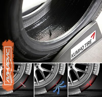 Kumho разработала самозаклеивающиеся шины