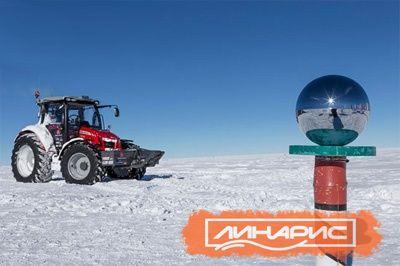 Шины Trelleborg добрались уже до Южного полюса