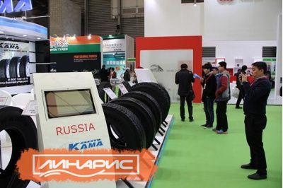 В Шанхае прошла выставка шинной индустрии Reifen China 2014
