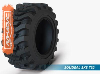 Новинки для погрузчиков от производителя шин Camoplast Solideal