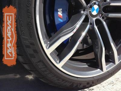 Шины Michelin выбраны для BMW X5 M и X6 M