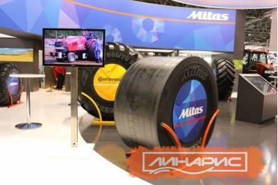 Выпущена новая слик-шина для тракторных гонок от Mitas