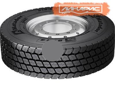 На выставке Motortec будет представлена новая линейка грузовых шин Matador