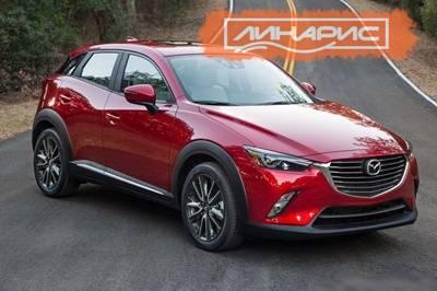 Выбраны шины для новой Mazda CX-3