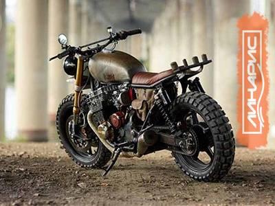 Для мотоцикла Дэрила Диксона из «Ходячих мертвецов» используют шины Kenda