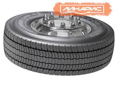 Goodyear Treadmax - восстановленные шины для рулевой оси в новых размерах