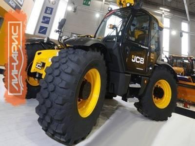 Michelin Bib Load Hard Surface выбраны для комплектации погрузчиков JCB
