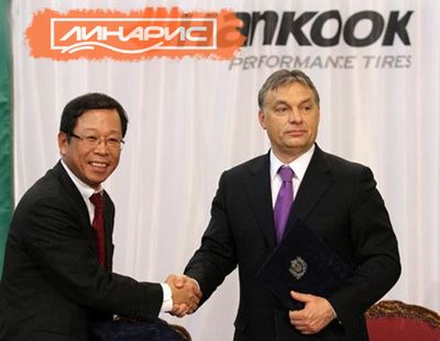 Hankook оказались в центре скандала из-за госпомощи Венгрии